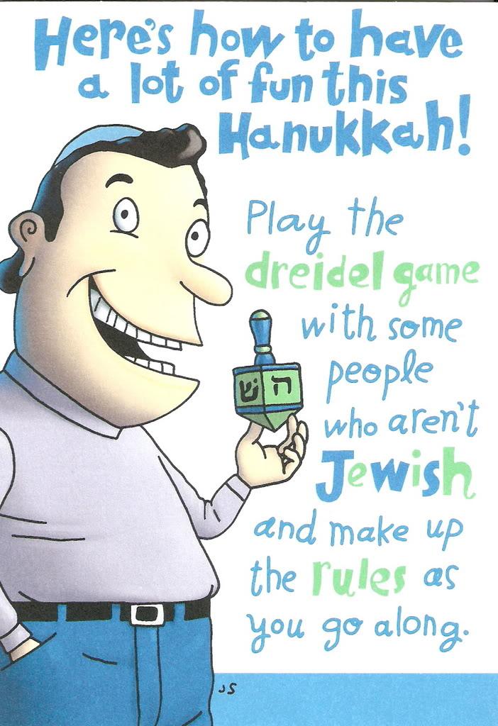 hanukkah card goy shiksa 1_of_2 - Funny Hanukkah Cards