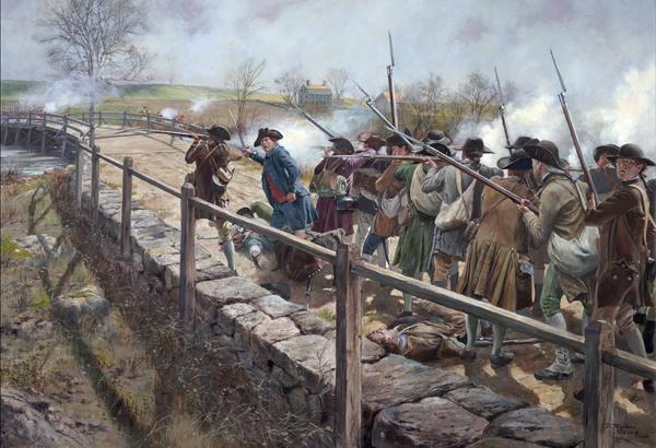 concord-bridge-battle