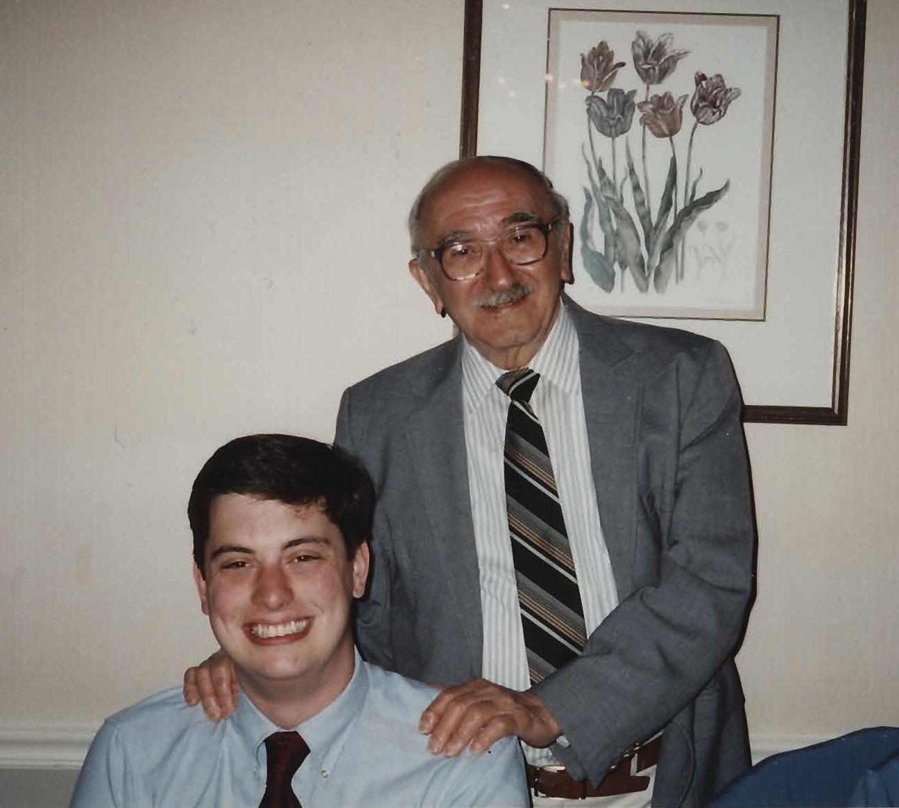 Italian Grandfather John De Nugent