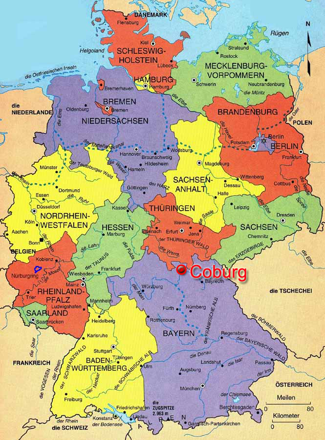 map germany coburg