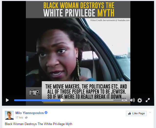 "Black conservative woman debunks ""white privilege"" — talks about the REAL privileged characters"