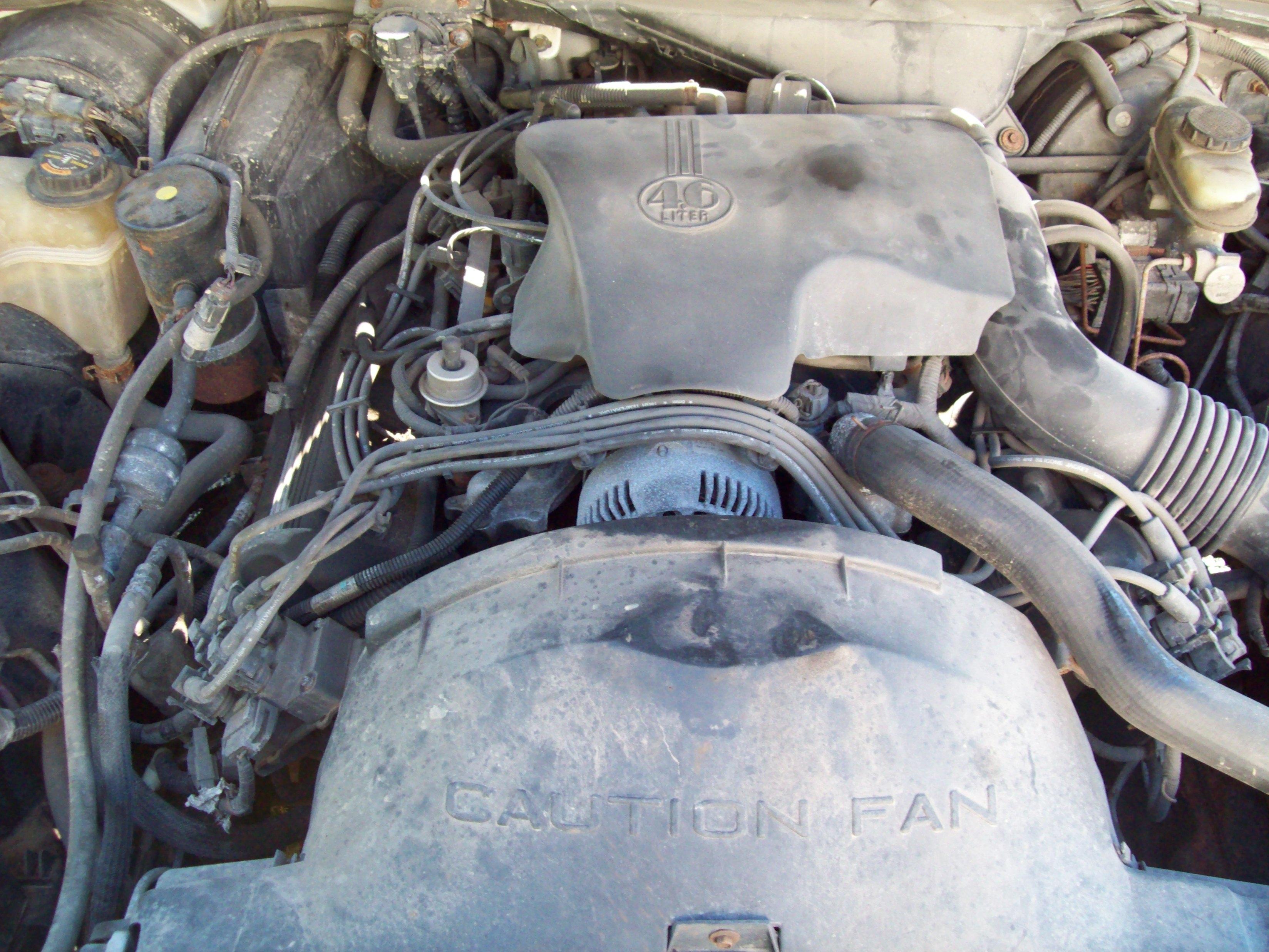 Under Hood 1996 Crown Victoria 4 6 Liter Engine